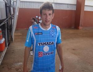 Fábio Sanches é mais uma cara nova no elenco do Paysandu (Foto: Gustavo Pêna/GLOBOESPORTE.COM/PA)