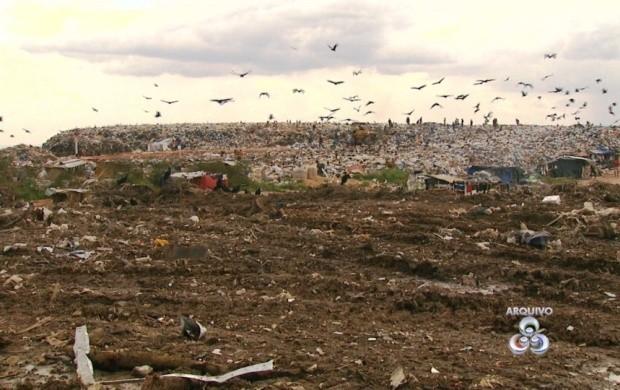 Funasa planeja fechar os lixões de Roraima (Foto: Bom Dia Amazônia)