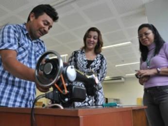 Máquinas da Ufam beneficiam comunidades em três cidades do Amazonas (Foto: Divulgação/Ufam)