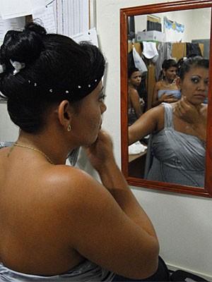 Casamento na Colônia Penal Feminina do Recife (Foto: Divulgação)