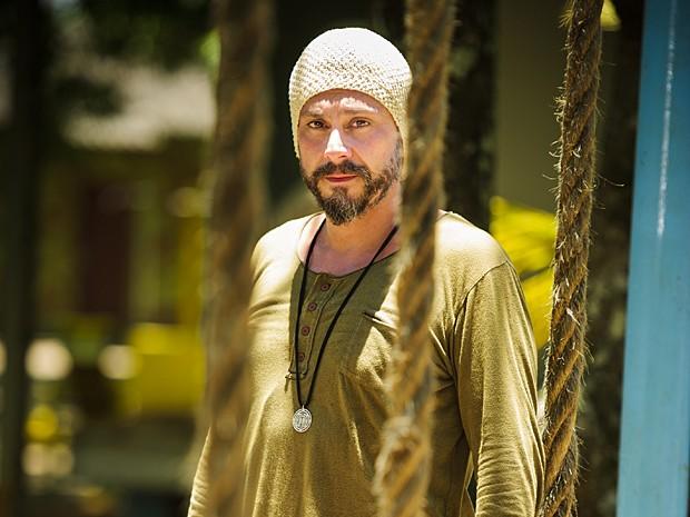 Alexandre Nero ajudou a fundar a Comunidade de Além do Horizonte (Foto: Alex Carvalho / TV Globo)