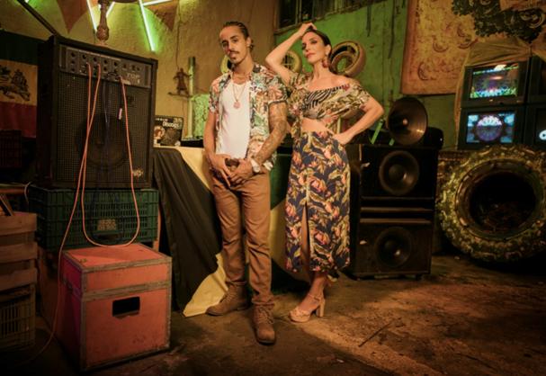 Ivete Sangalo e MC Livinho (Foto: Reprodução/Instagram)