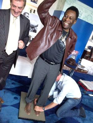 Pelé, Golden Foot (Foto: Reprodução / Twitter)