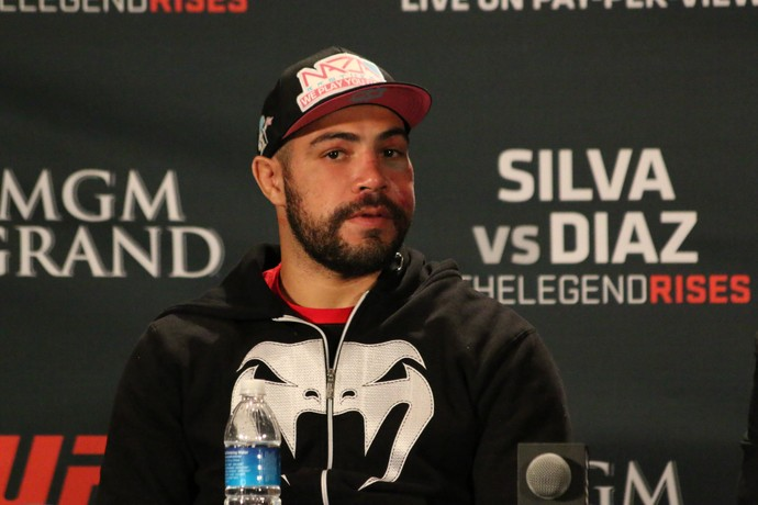Thales Leites MMA UFC (Foto: Evelyn Rodrigues)