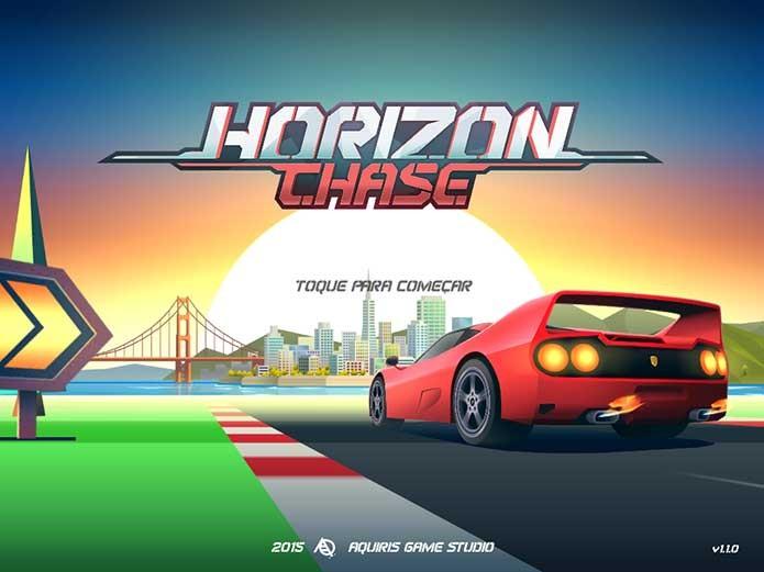 Horizon Chase (Foto: Reprodução/Felipe Vinha) (Foto: Horizon Chase (Foto: Reprodução/Felipe Vinha))