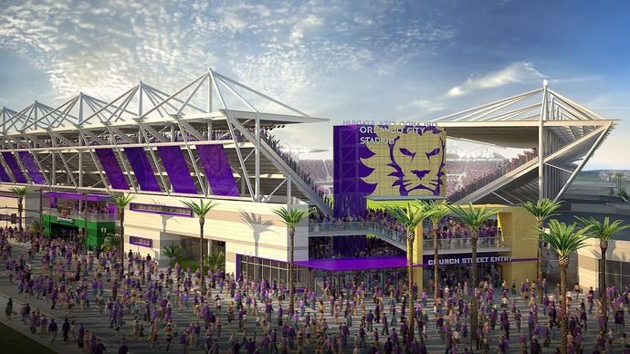 Orlando City estádio (Foto: Divulgação/Site oficial do Orlando)