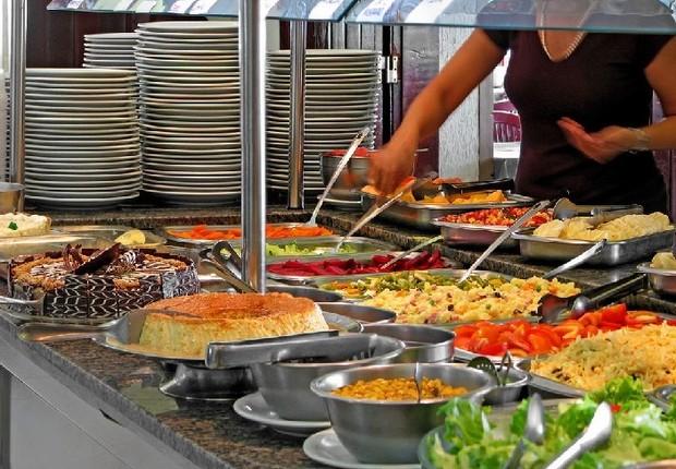 Restaurante de quilo ; comer fora de casa ; inflação de alimentos ;  (Foto: Reprodução/Facebook)