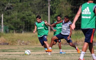 Conca treino Fluminense (Foto: Fernando Cazaes / Photocamera)
