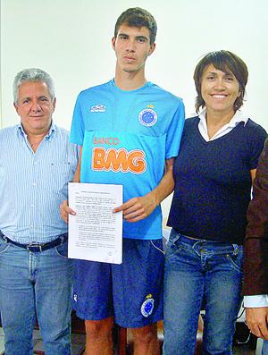 João Gabriel, atacante do Cruzeiro (Foto: Divulgação)