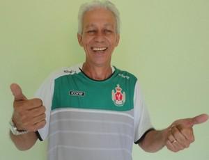 Moreno, técnico do Real Noroeste (Foto: Waschgtongrei Rodes)