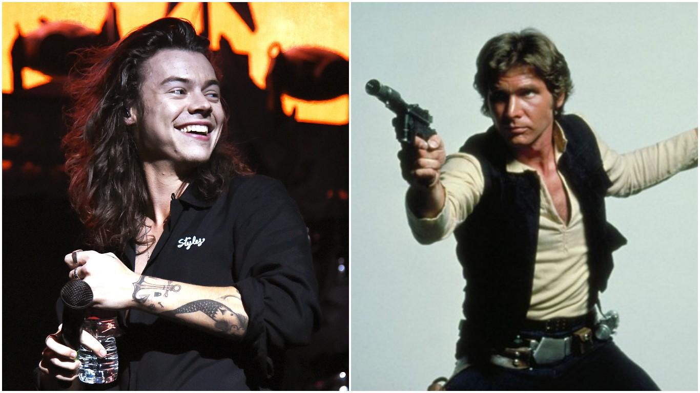 Harry Styles - Han Solo (Foto: Getty Images / Divulgação)