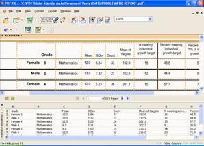 PDF2XL: PDF To Excel Converter
