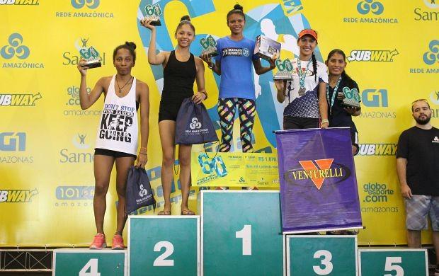 Franciane dos Santos concluiu a prova em 20m38s (Foto: Matheus Castro/ Globoesporte.com)