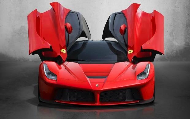 Vendida por 1 milhão de euros, LaFerrari tem 963 cv e supera os 350 km/h (Foto: Divulgação)
