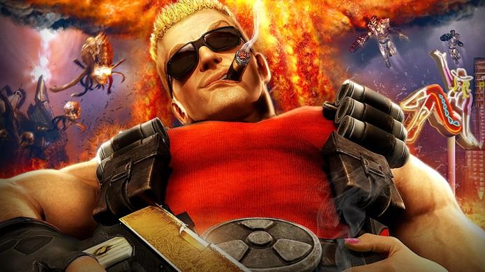 Duke Nukem foi um dos mais populares personagens de jogos dos anos 90 (Foto: duke4.net)