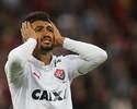"""Sem marcar há sete rodadas, Kieza fala sobre seca de gols: """"Fico triste"""""""