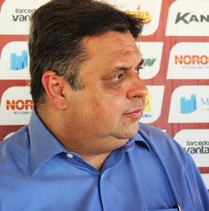 Júlio Arcoverde, presidente do River-PI (Foto: Emanuele Madeira)