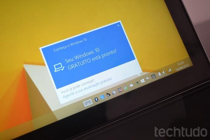 Baixe o Windows 10 novamente pelo app Baixe o Windows 10 (Foto: Melissa Cruz / TechTudo)