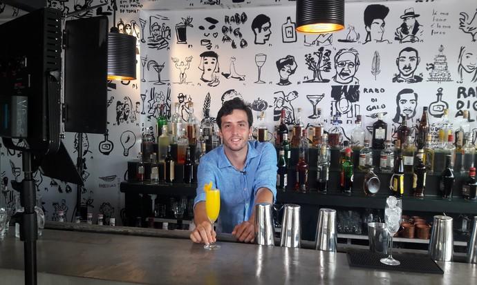 Mistura vai mostrar opções de drinks feitos com espumante  (Foto: Mistura/RBS TV)