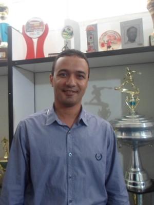 Cristiano Junior funorte (Foto: Cida Santana/Globoesporte.com)