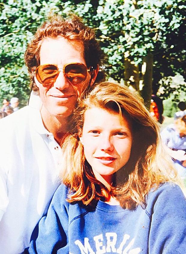Que gra 231 a gwyneth paltrow posta foto antiga com o pai quem quem