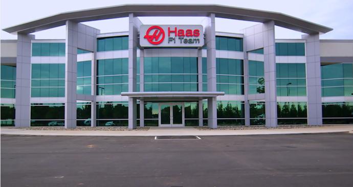 Sede da Haas F1 Team em Kannapolis, nos Estados Unidos (Foto: Divulgação)