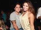 Thammy Miranda e Andressa Ferreira vão a show de funk no Rio