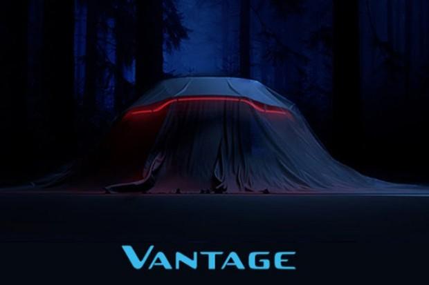 Aston Martin Vantage aparece em convite de lançamento (Foto: Reprodução / Twitter)