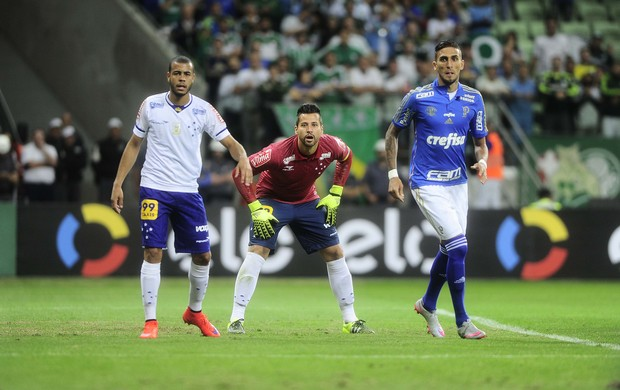 Palmeiras x Cruzeiro Mayke Fábio Rafael Marques