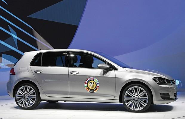 Novo Golf é eleito carro do ano na Europa (Foto: Divulgação)