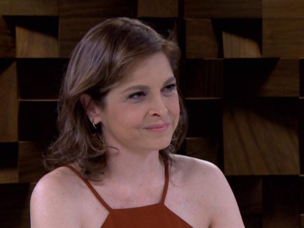 Drica Moraes  a entrevistada da semana no programa de Marlia Gabriela (Foto: Reproduo/ GNT)