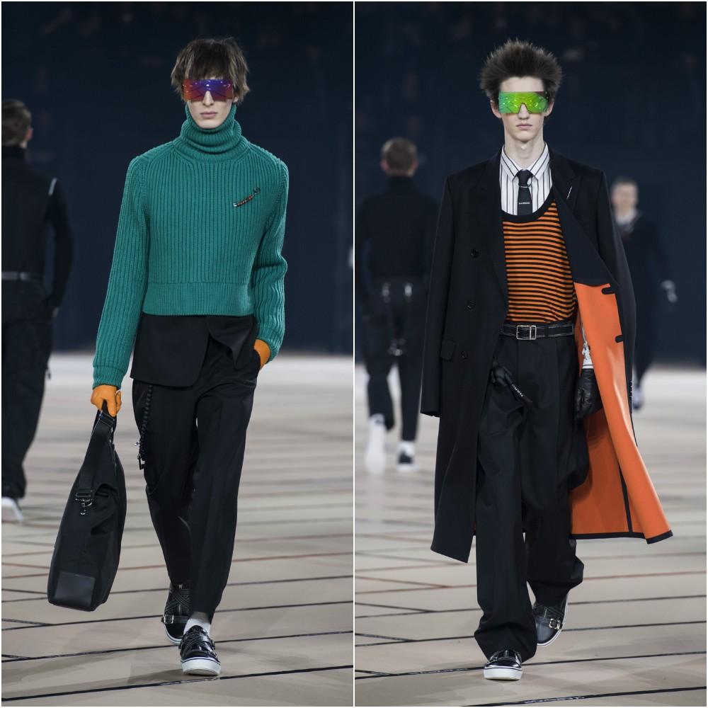Desfile da Dior Homme durante a Semana de Moda Masculina de Paris (Foto: Getty Images)
