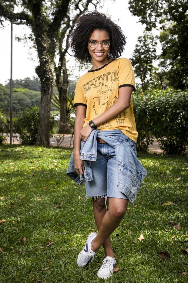 Ellen ( Heslaine Vieira ) (Foto:  Globo/Ramón Vasconcelos)