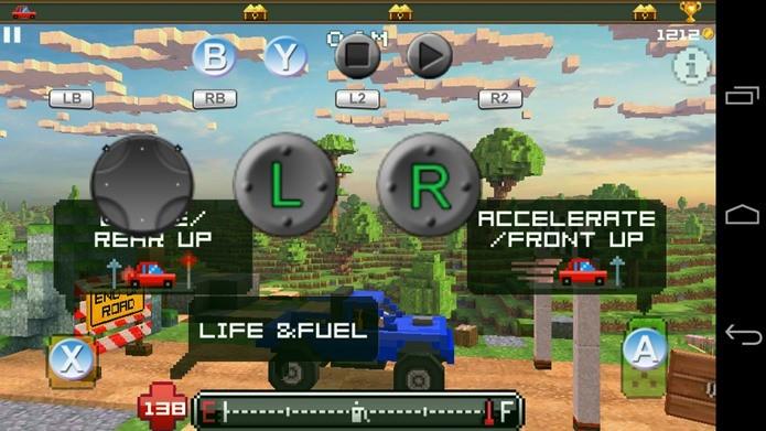 Aplicativo de apoio permite configurar o joystick em qualquer jogo (Foto: Reprodução / Dario Coutinho)