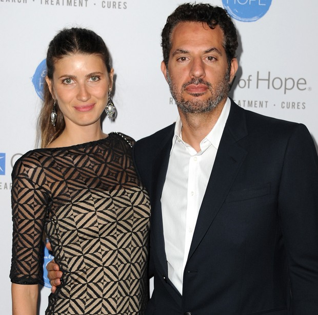 Michelle Alves e Guy Oseary (Foto: Getty Images)