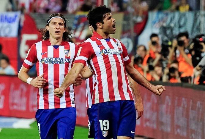 Diego Costa Atlético de Madri x Elche (Foto: AFP)