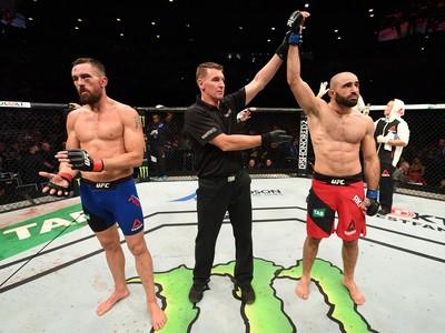Omari Akhmedov venceu Kyle Noke por decisão unânime (Foto: Getty Images)
