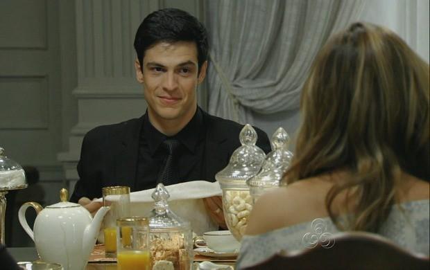 Mateus Solano viverá Félix, irmão invejoso de Paloma, vivida por Paolla Oliveira (Foto: Reprodução/TV Amazonas)