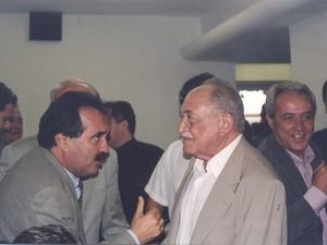 Arraes e Jorge Gomes (Foto: Arquivo Pessoal/Jorge Gomes )