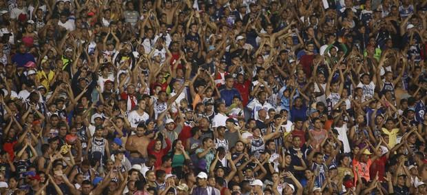 Remo espera quase 30 mil torcedores no Mangueirão (Foto: Tarso Sarraf)