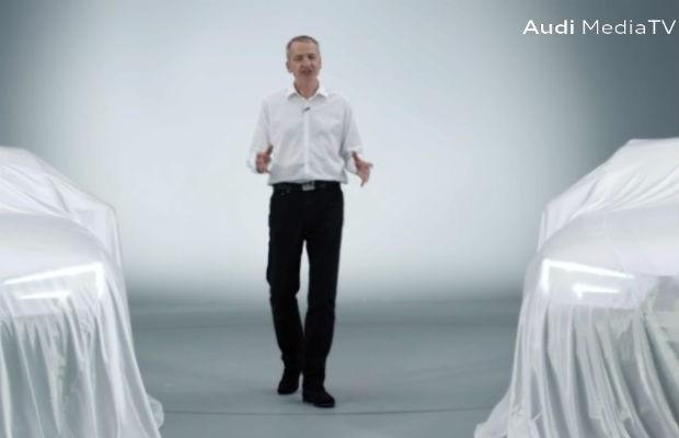 Teaser do novo Audi A4 e A4 Avant (Foto: Divulgação)