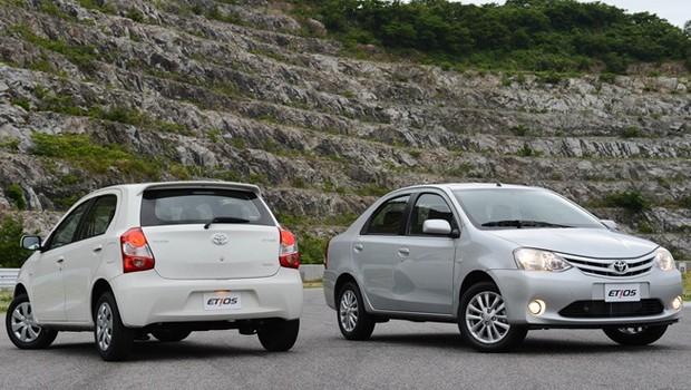 Toyota Etios (Foto: Divulgação)