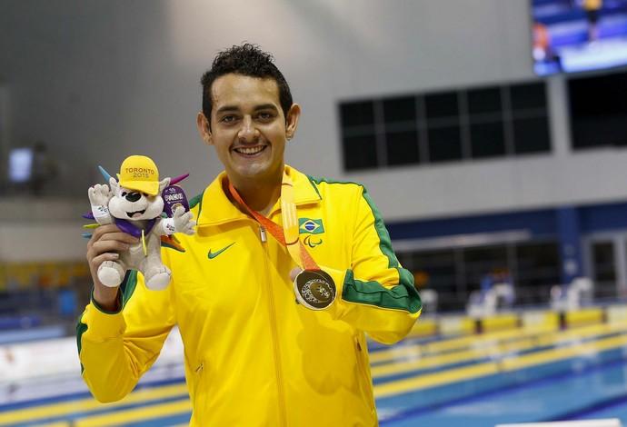 Ruiter, natação, parapan-americano, Toronto (Foto: Comitê Olímpico Brasileiro)