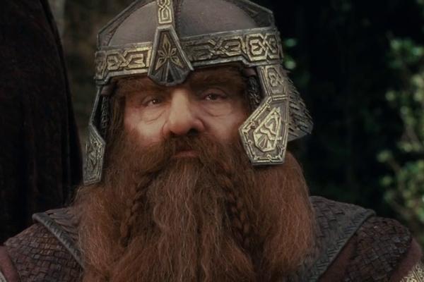 Rhys-Davies viveu o anão Gimli na trilogia de O Senhor dos Anéis (Foto: Reprodução)