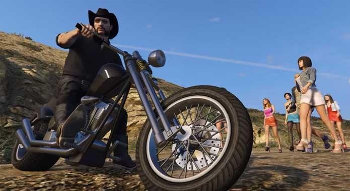 Lemmy é homenageado em modificação de GTA 5 (Foto: Reprodução/Felipe Vinha)