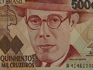 Governo Collor buscava reduzir a quantidade de dinheiro em circulação para conger inflação (Foto: Reprodução/MGTV)