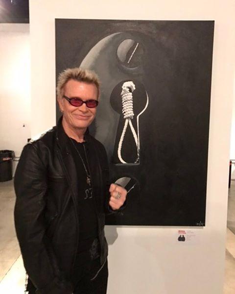 Billy Idol (Foto: Reprodução/Instagram)