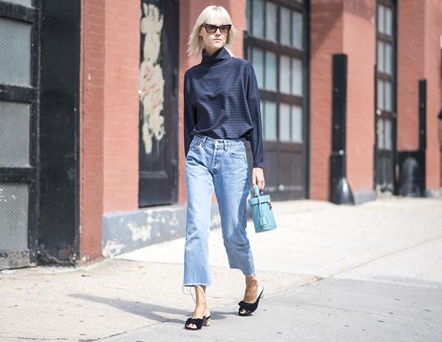 Deixe espaço no armário para experimentar modelos diferentes de jeans (Foto: Imaxtree)