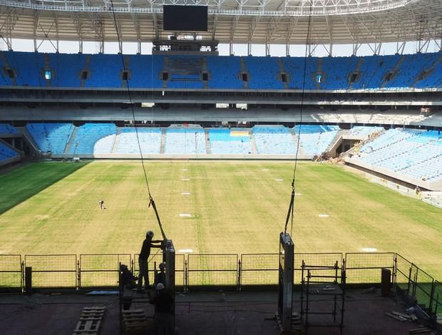arena grêmio galeria estádio arena do grêmio (Foto: Lucas Rizzatti/Globoesporte.com)