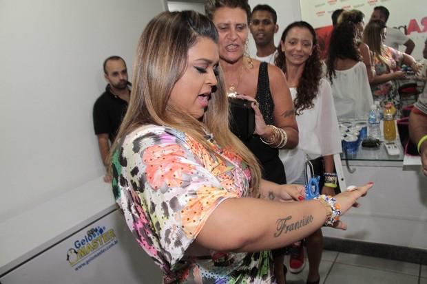 Preta Gil antes de show no Rio (Foto: Isac Luz/ EGO)
